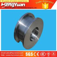China Gantry crane and overhead crane used forged iron crane wheels on sale