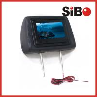 China Taxi Back Seat Advertising Headrest Monitor with 3G / WIFI / Body Sensor on sale