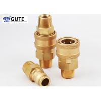 "Straight Through Brass Quick Coupler , 3/4"" Male Thread Quick Connect Coupling"