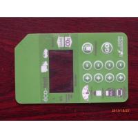 Wholesale Custom Made Membrane Switch Panel Waterproof For Air Conditioner from china suppliers