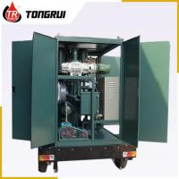 Wholesale Vacuum Transformer Oil Purifier 30L/min Double Stage ZJA Easy Handling from china suppliers