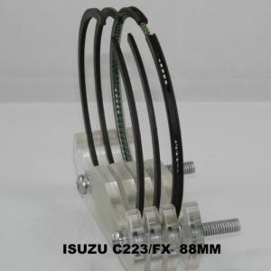China Isuzu C223 Ceramic Engine Piston Rings Set , Air Compressor Piston Rings on sale