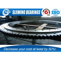 Wholesale Single Row Crane Slewing Bearing Internal Gear For Construction Vehicles from china suppliers