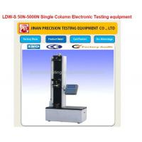 Wholesale LDW-S 50N-5000N Single Column Electronic Testing equipment from china suppliers