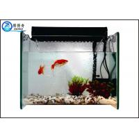 China Filter Aquarium Waterfall Fish Tank , Mini Glass Marine Fish Tank on sale