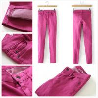Wholesale Brand Gap women skinny jeans slim legging in rose cheap  fashion low-rise trousers Malaysia  inventory stock from china suppliers