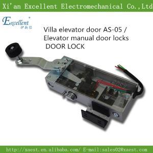 Wholesale Elevator manual door locks DOOR LOCK elevator electric door lock  as-05 Lift Elevator Door Lock for Swing Door from china suppliers