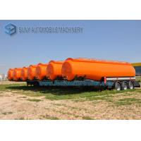 Quality High Capacity International Goose Neck Oil Tank Trailer 45000L 3 Axle for sale