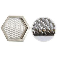 Wholesale SS Expanded Metal Grid , Aluminium Diamond Mesh Thickness 0.5mm-8mm from china suppliers