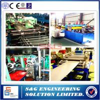 Wholesale Supermarket Shelves Making Storage Rack Roll Forming Machine 100mm Roll from china suppliers
