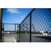 Quality Black coated chain link fence for tennis court for sale