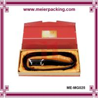 Wholesale China directly factory woman belt box, paper box men belt with blister plastic ME-MG025 from china suppliers