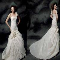 Wholesale One Shoulder Mermaid Bridal Dress (PF10019) from china suppliers