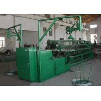 China Double Wire Mesh Making Machine /Chain Link Fence Making Machine With PLC Control on sale