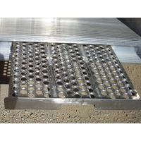 Wholesale Anti - Skid Round Hole Perforated Metal Sheet , Walkway Punching Metal Mesh Mesh from china suppliers