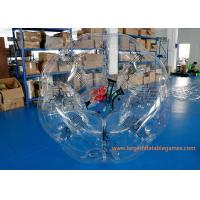 Buy cheap TPU Inflatable Bubble Ball Customized Size For Amusement Park Play from wholesalers