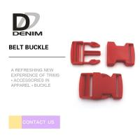 Wholesale Red DTM Clothing Plastic Belt Buckle Bulk Buttons Fashion Bag Accessories from china suppliers