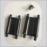 China Powder Coating Spring Loaded Hinges , Screen Door Spring Hinges 1.2mm Thickness on sale