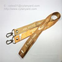 double ended Lanyard with metal snap hooks