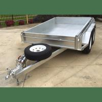 Wholesale 8x5 Hot Dipped Galvanized Tandem Trailer 2000KG from china suppliers