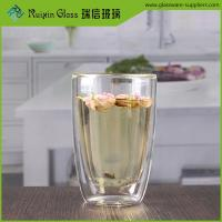 Wholesale 350ML 12oz Best insulated heat resistant double walled glasses wholesale from china suppliers