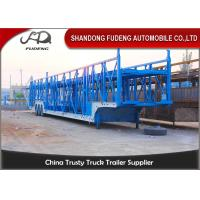 Wholesale Steel Chassis Automatic Car Carrier Trailer Double Axles Double Floor from china suppliers