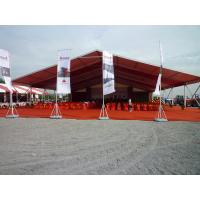 10 X 21m Outdoor Tents For Parties Steel Frame Material Durable Fire Proof