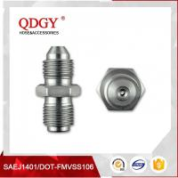 Buy cheap BLEED NIPPLE FITTING MALE TO MALE RESTRICTOR ADAPTER 7/16 X 20 UNF (-4 JIC) TO 7/16 X 24 GARRETT GT  SERIES TURBO from wholesalers