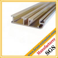 window door frame profiles brass channel extrusions sections