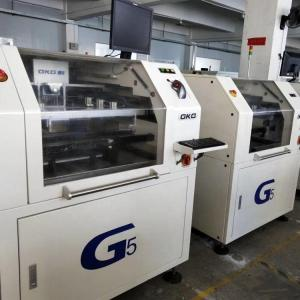 Wholesale 0.025mm Accuracy 1500mm / S GKG-G5 SMT Screen Printers from china suppliers
