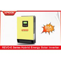 Buy cheap 3000W Hybrid Solar Inverter with LCD Display for Home Appliances REVO-E Series from wholesalers