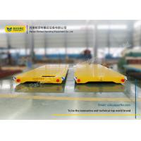 Wholesale No Power Rail Mounted Towed Pallet Transfer Carts , Cargo Rail Transfer Trolley from china suppliers