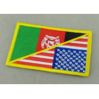 Wholesale Customized Promotional US Uniform Badge Patch 3.25 Inch Eco - Friendly from china suppliers
