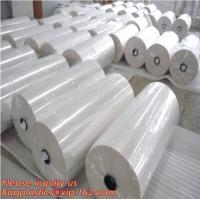 Wholesale Polyolefin POF Heat Shrink Wrap Film,Pre-perforated film,POF clear heat shrink plastic protective roll film,PE Shrink Fi from china suppliers