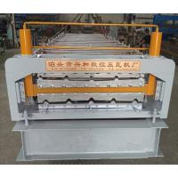China European Style Industrial Roofing Sheet Making MachineWith PLC Control System on sale