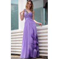 Wholesale Floor Length One Shoulder Printed Mature Evening Dress / Modern Bridesmaids Dresses -30657 from china suppliers