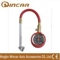 China Heavy Duty Dial Tire Gauge/Car Tyre Deflator with Hose for WH36 on sale