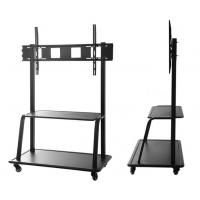 Wholesale LCD TV mobile bracket conference room lift floor large screen display bracket cart from china suppliers