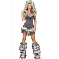 Buy cheap Womens Captain California adult halloween costumes , Indian fancy dress costumes from Wholesalers