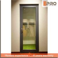 Wholesale Multi Color Aluminium Hinged Doors With Powder Coated Surface Treatment from china suppliers