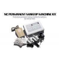 Stainless Steel Permanent Makeup Tattoo Machine Kit With Cartridge Needle