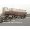 Tri - axle Fuel tanker trailer utility fuel oil tank trailer