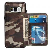 Wholesale Camouflage Samsung S8 Plus Wallet Case , Back Cover Custom Leather Phone Cases from china suppliers