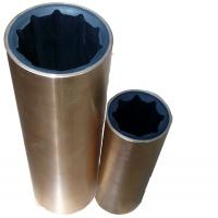 Buy cheap Copper and Fiber Cover Marine Hardware Water Lubricated Rubber Bearing , Marine Bearings from wholesalers