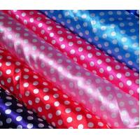Wholesale Lean Textile 100% polyester printed satin fabrics from china suppliers