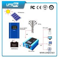 Buy cheap Pure Sine Wave Hybrid Solar Inverter with LCD Display and UPS Function from wholesalers