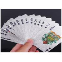 Wholesale Offset CMYK Pantone Color Plastic Playing Cards Waterproof Gold PVC Poker from china suppliers