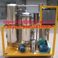Wholesale Stainless steel UCO purifier, cooking oil Filtration, oil treatment plant from china suppliers