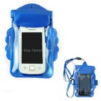 Wholesale Promotional Gift Waterproof Case Bag , Underwater Phone Pouch With Armband / Landyard from china suppliers