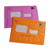 Wholesale Pink Kraft Shipping Envelopes , Kraft Padded Mailers Window Ideal For Address Label from china suppliers